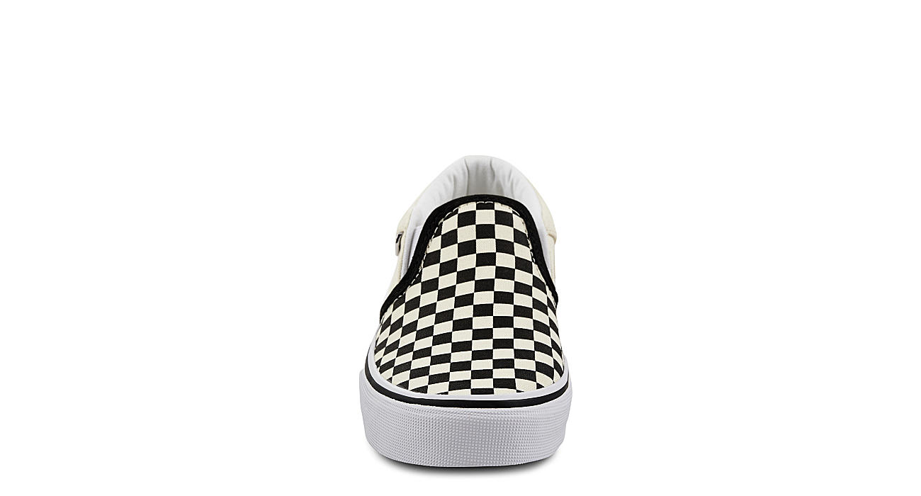 VANS Boys Asher Slip-on - BLACK