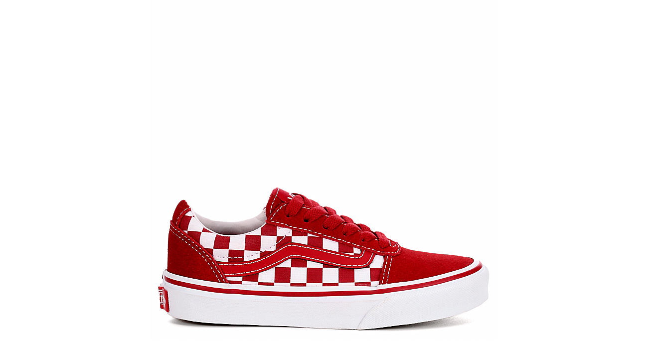 VANS Boys Ward - RED