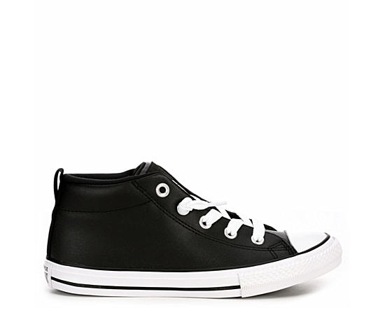 Boys Chuck Taylor All Star Street Mid Leather