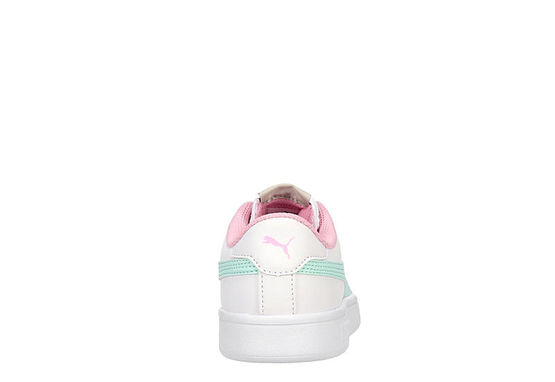 PUMA Girls Smash Jr - WHITE