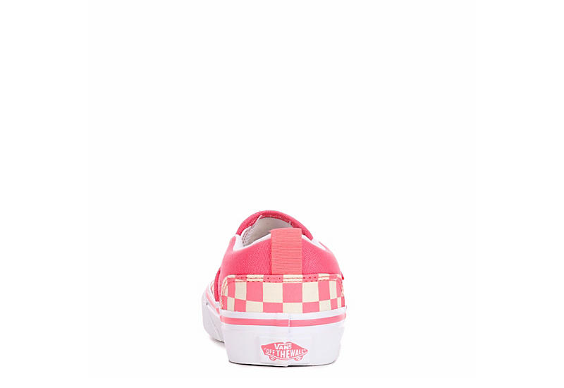 VANS Girls Asher Slip-on - PINK
