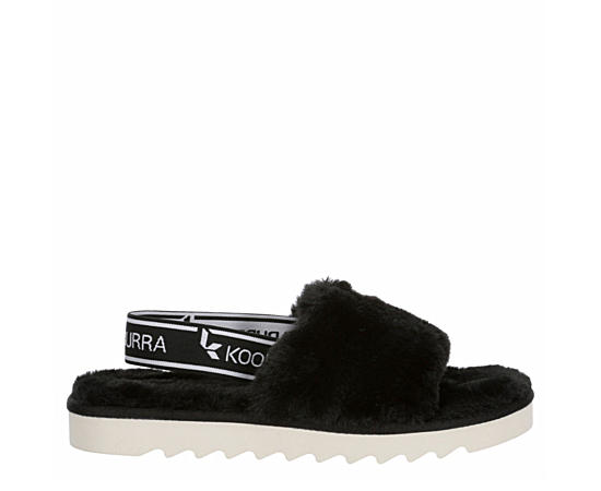 Girls Fuzzn Slide Sandal