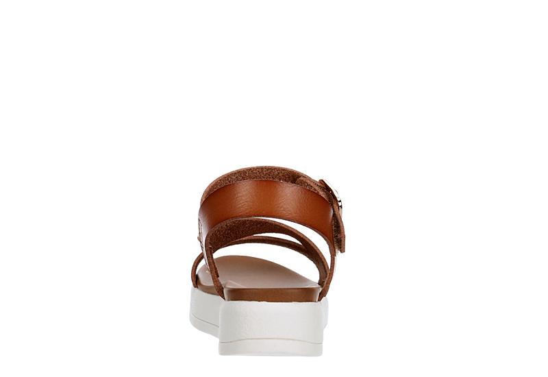 SOPHIE17 Girls Marlow Platform Sandal - COGNAC