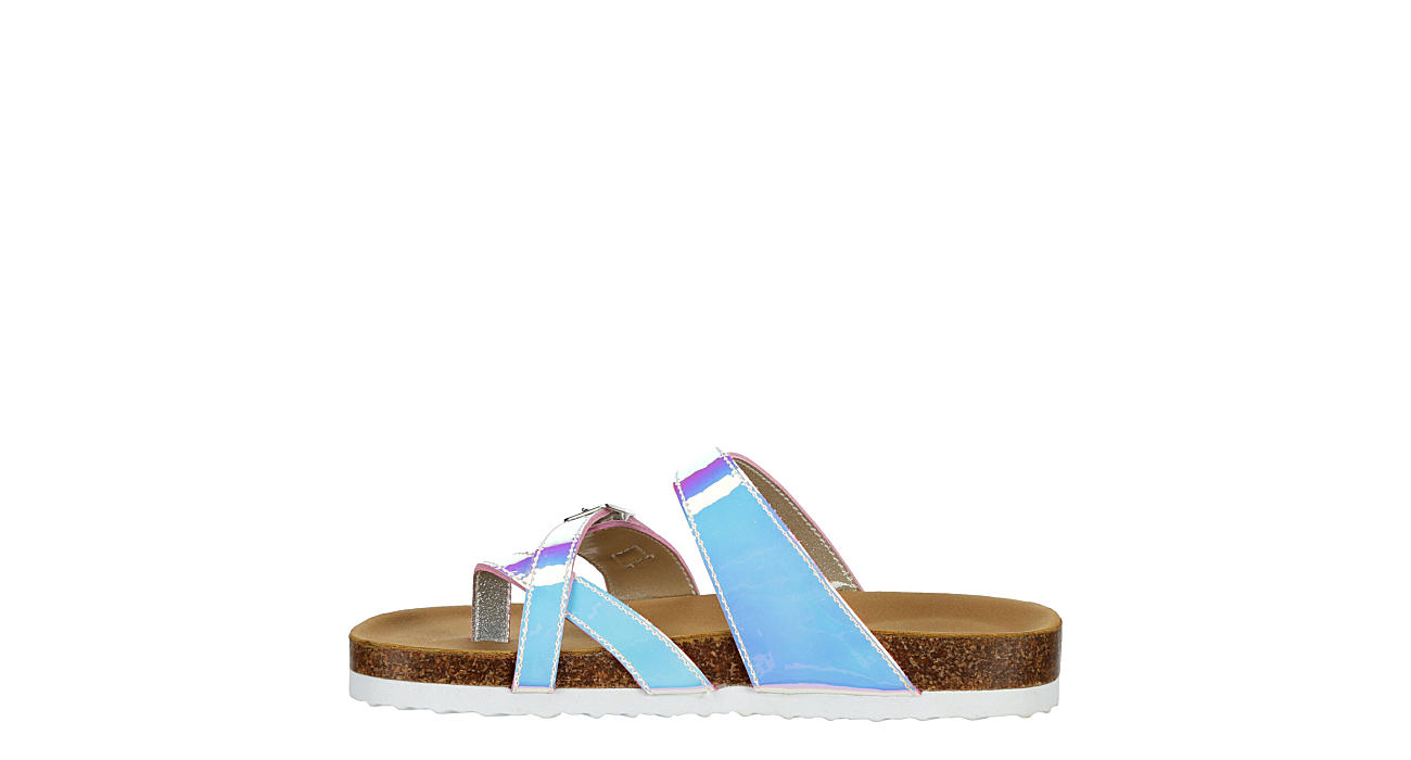 MADDEN GIRL Girls Mbreachy Footbed Sandal - PALE PINK