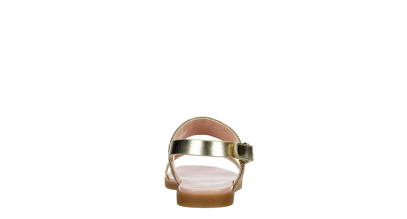 CUPCAKE COUTURE Girls Media Sandal - GOLD