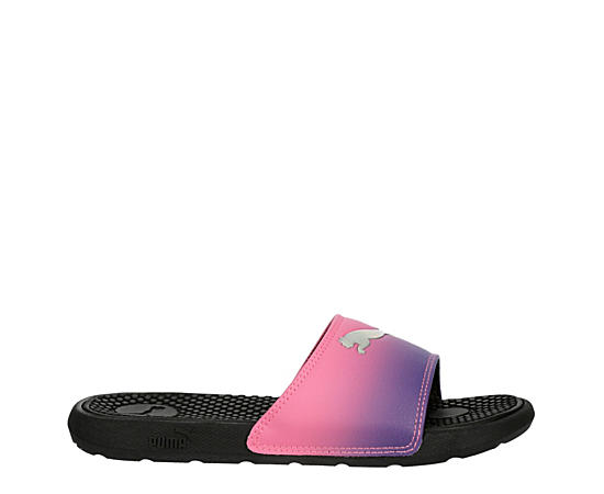 Girls Cool Cat Slide Sandal