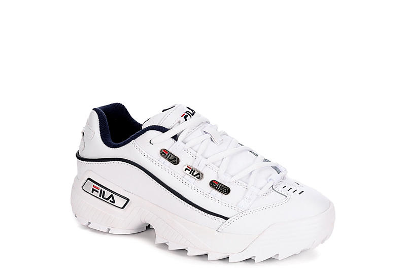 WHITE FILA Womens Hometown