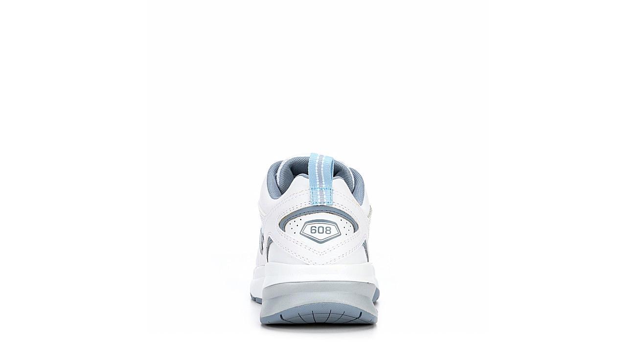 NEW BALANCE Womens Wx608v5 Training Shoe - WHITE
