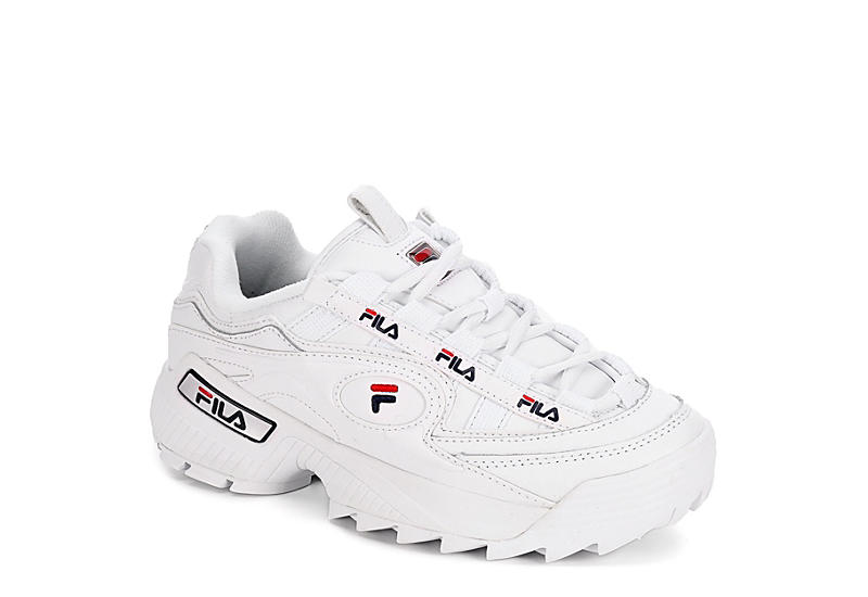 WHITE FILA Womens D-formation