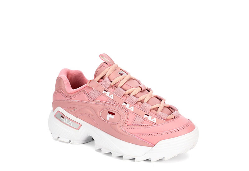PALE PINK FILA Womens D-formation