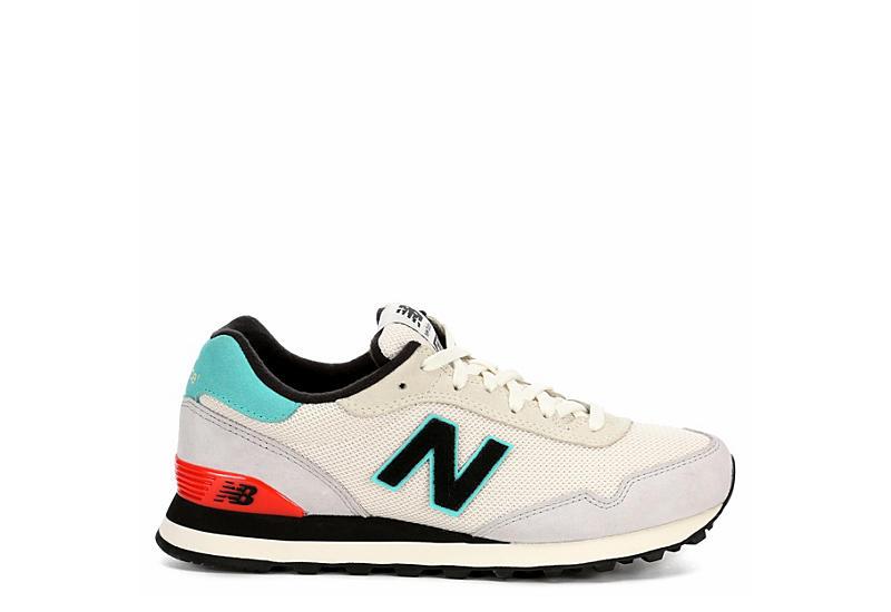 NEW BALANCE Womens 515 Sneaker - WHITE