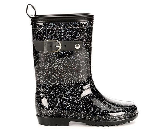 Girls Glitter Rain Boot