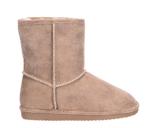 Girls Comfy Fur Boot