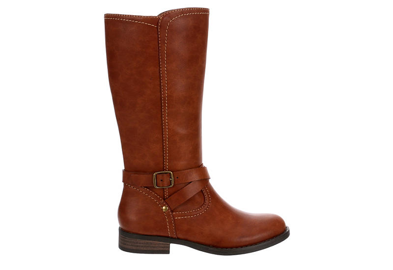 CUPCAKE COUTURE Girls Ridder Riding Boot - COGNAC