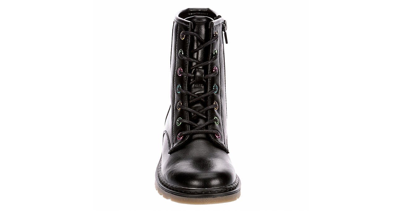 CUPCAKE COUTURE Girls One Love Combat Boot - BLACK