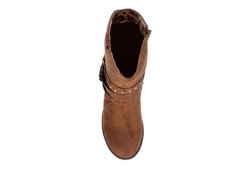CUPCAKE COUTURE Girls Cirsi Western Boot - BROWN