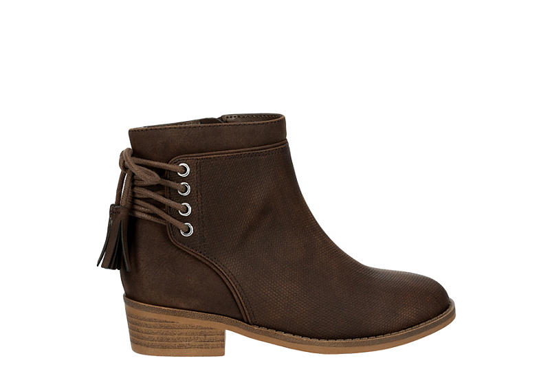 CUPCAKE COUTURE Girls Missy Bootie - BROWN