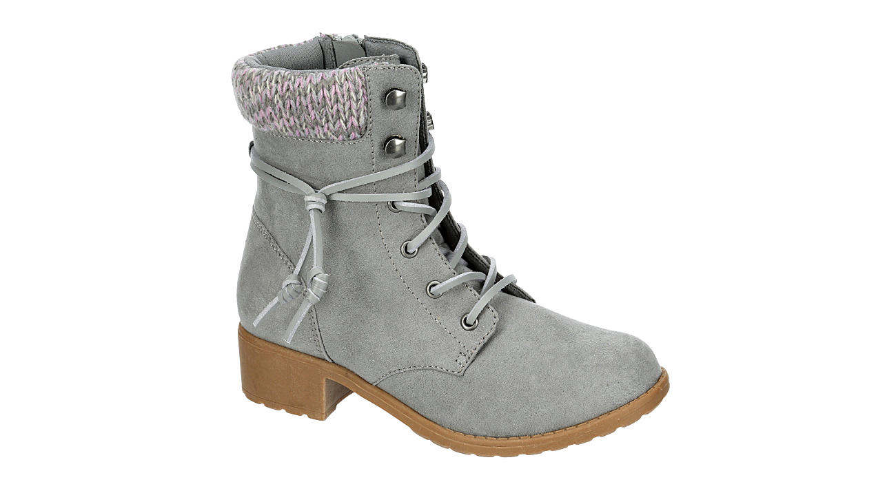SPERRY Girls Gwyn Combat Boot - GREY
