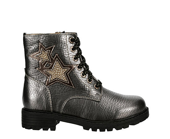Girls Starlette Combat Boot