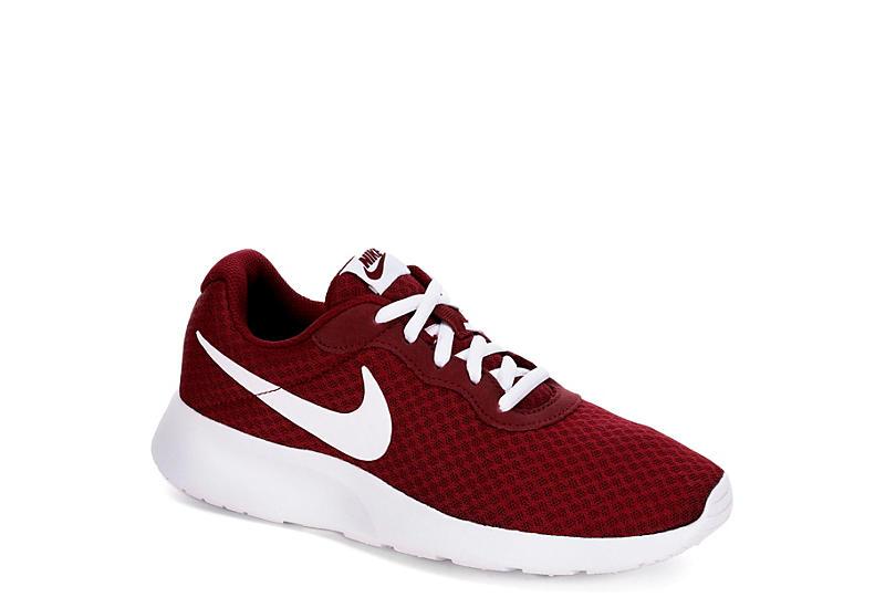 Dark Red Nike Tanjun Women s Running Shoe  d88f533d8c