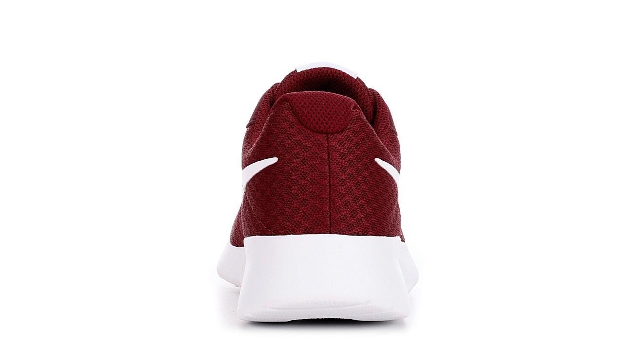 5d113de26a5e Dark Red Nike Tanjun Women s Running Shoe