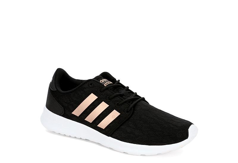 black adidas donne cloudfoam qt racer atletico atletico atletico rack stanza scarpe f47e6e