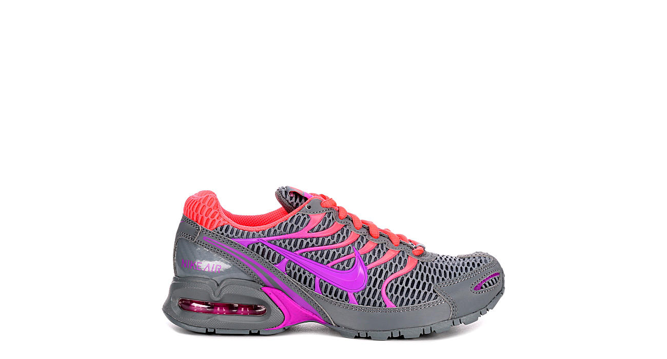 Gris Nike Mujeres Air Max Antorcha Zapatos 4 Athletic Rack Room Zapatos Antorcha 4acbf0