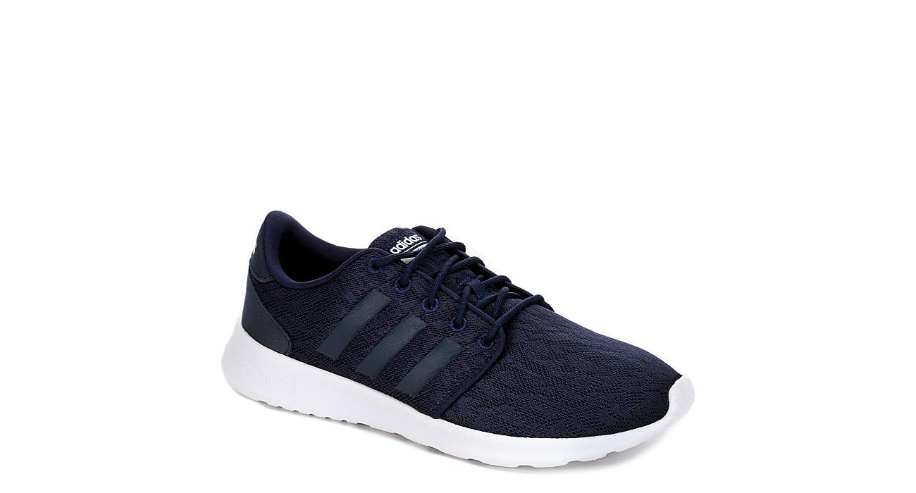 outlet store sale f84ad 8317a Adidas Womens Cloudfoam Qt Racer - Navy