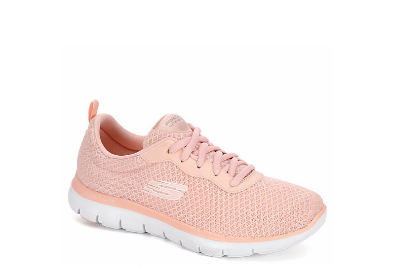 Pale Pink Skechers Womens Flex Appeal 2.0  715da3662