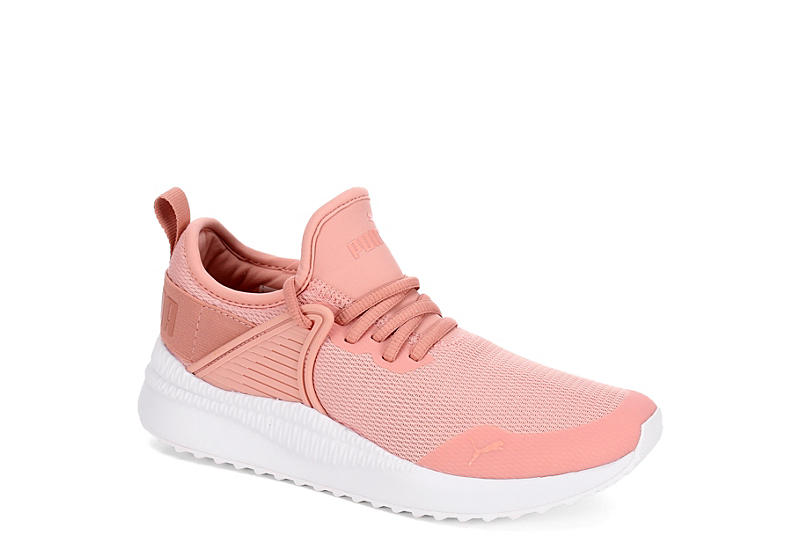 Peach Puma Womens Pacer Next Cage Athletic Rack Room Shoes