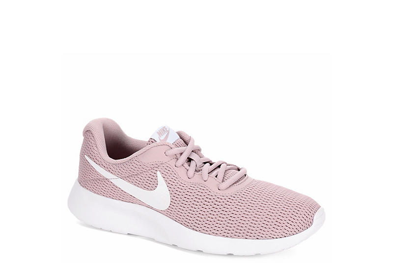 Pink   White Nike Tanjun Women s Sneakers  6a6158387f
