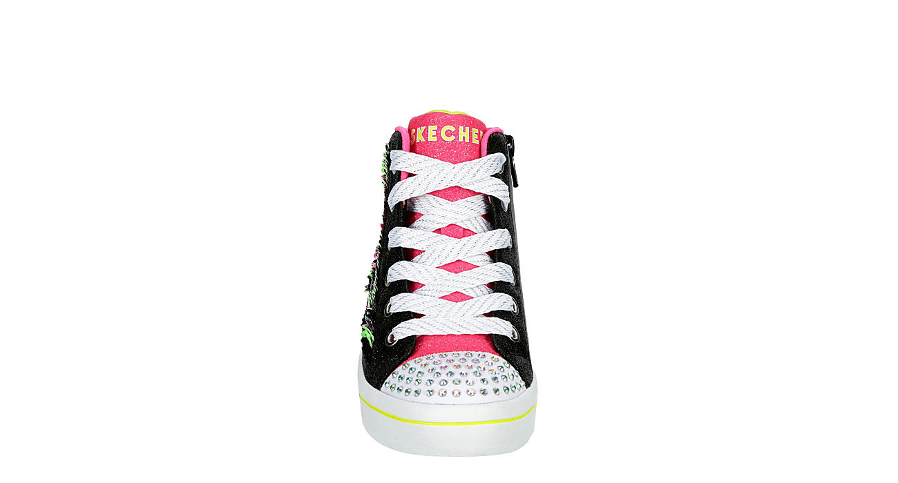 SKECHERS Girls Twi-lites - BLACK