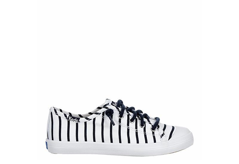 KEDS Girls Kickstart Sneaker - WHITE