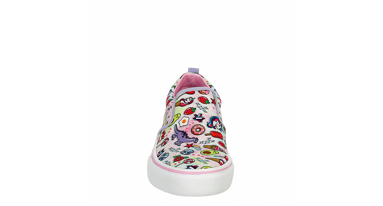 SKECHERS Girls Marley Jr Slip On Sneaker - WHITE