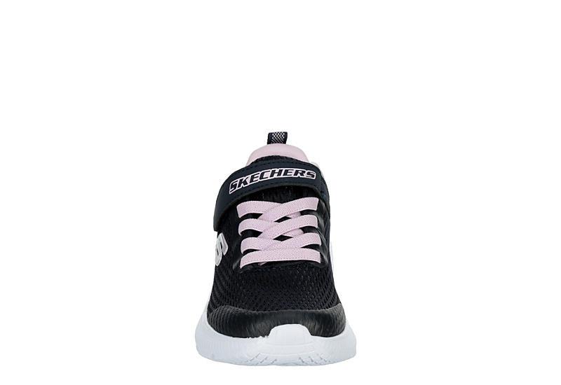 SKECHERS Girls Dyna-air Sneaker - NAVY