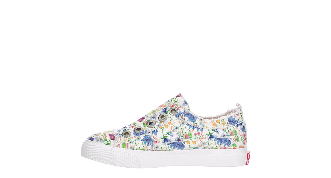 BLOWFISH Girls Play Slip On Sneaker - WHITE