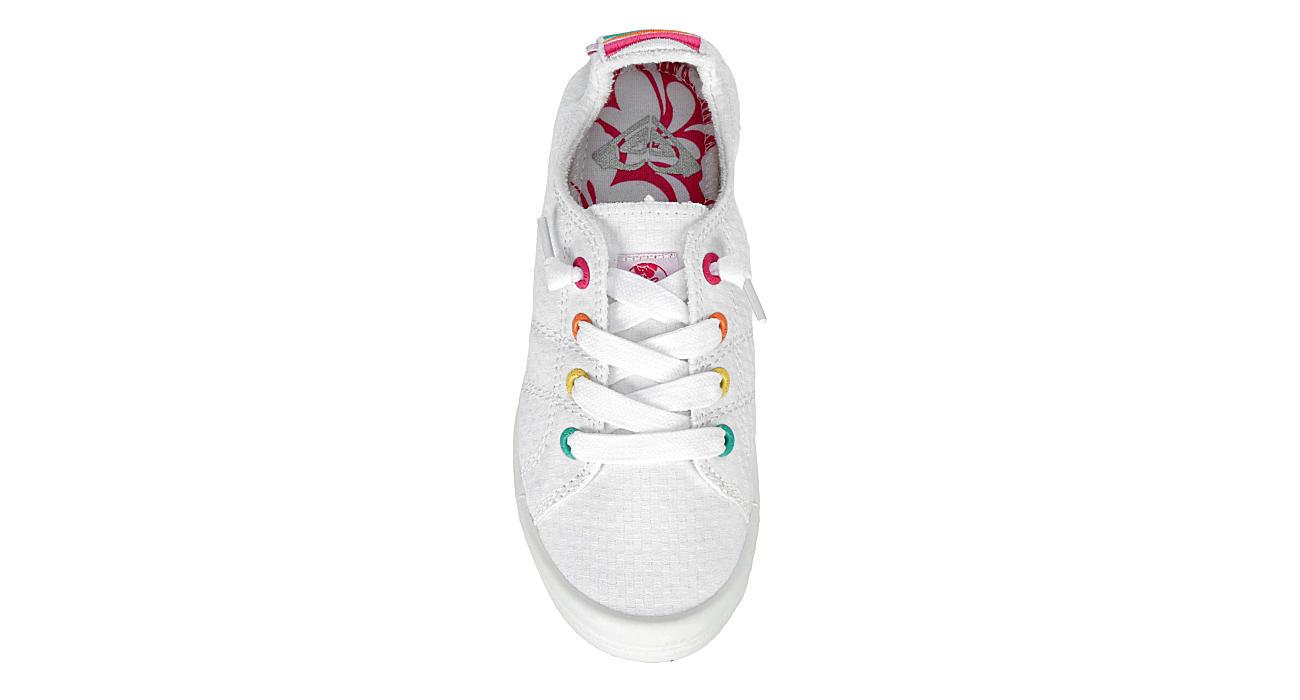 ROXY Girls Bayshore Slip On Sneaker - WHITE