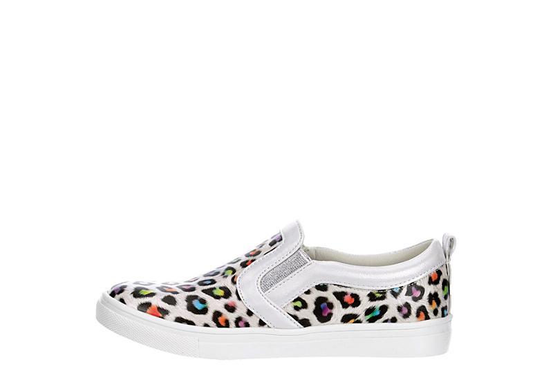 CUPCAKE COUTURE Girls Lf Leopard Slip On Sneaker - MULTICOLOR