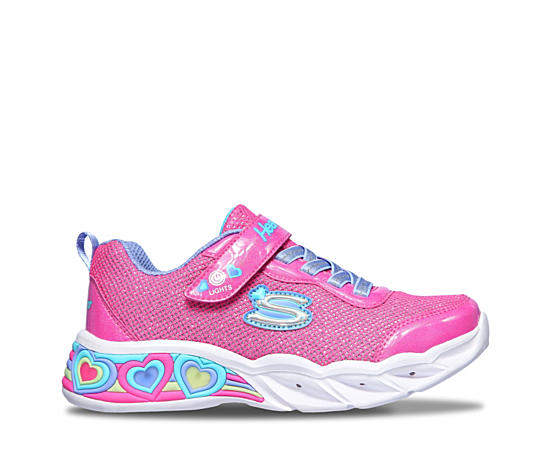 Girls Sweetheart Lights- Shimmer Spells Light Up Sneaker
