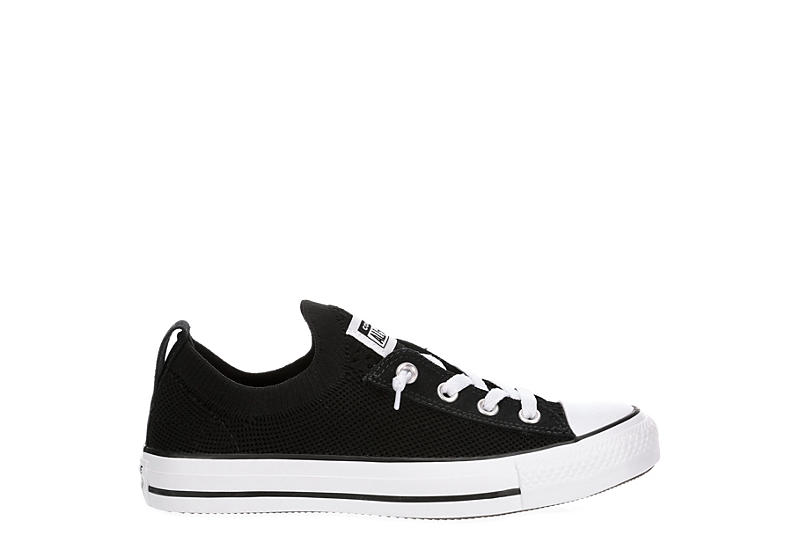 CONVERSE Womens Chuck Taylor All Star Shoreline Knit Sneaker - BLACK