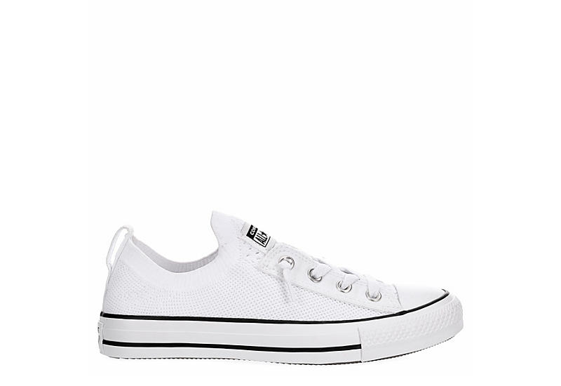 CONVERSE Womens Chuck Taylor All Star Shoreline Knit Sneaker - WHITE