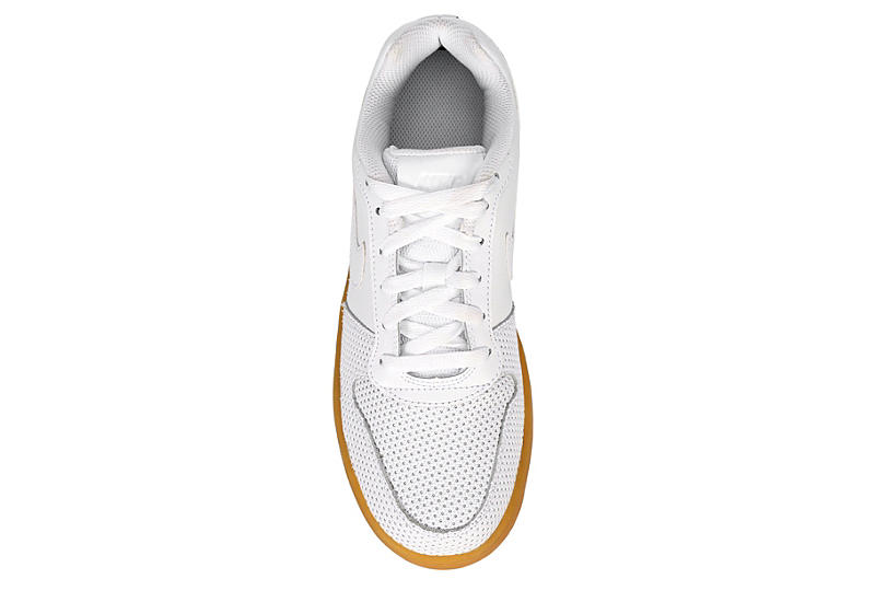 NIKE Womens Ebernon Low - WHITE
