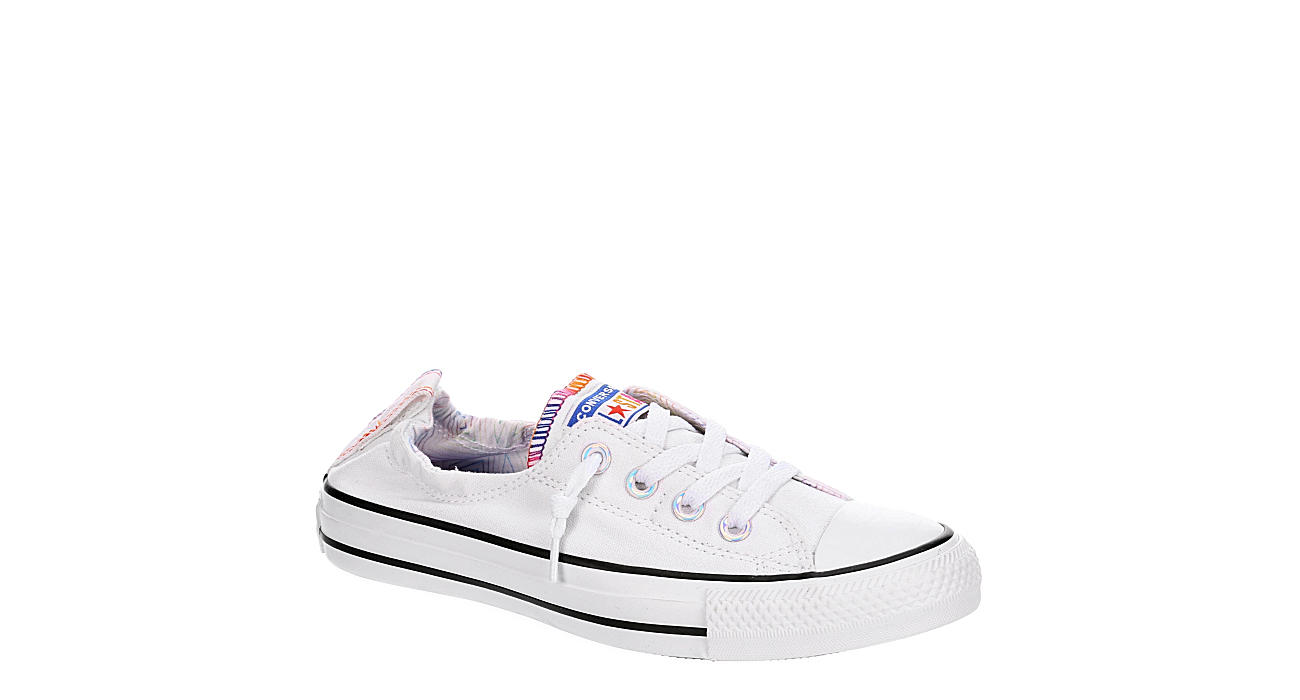 CONVERSE Womens Shoreline All Of The Stars - WHITE