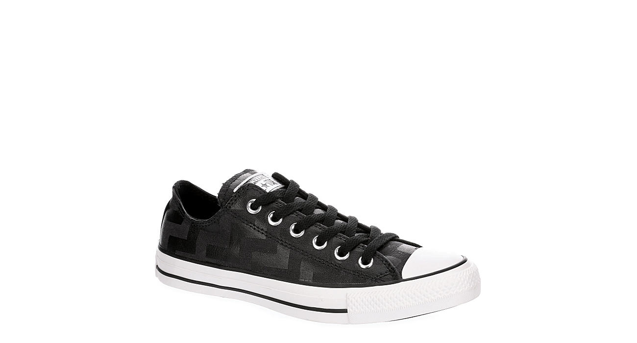 CONVERSE Womens Chuck Taylor All Star Glam Dunk Ox - BLACK
