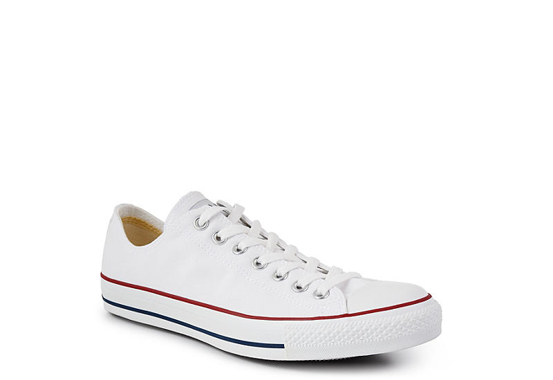 baff0f8c571a White Converse Unisex Chuck Taylor All Star Low Top Sneaker
