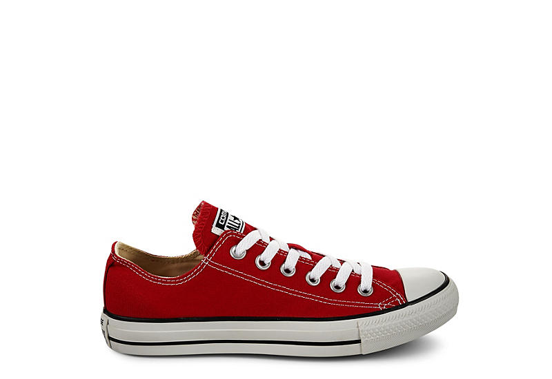 CONVERSE Unisex Chuck Taylor All Star Low Top Sneaker - RED