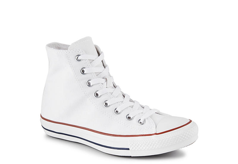 White Converse Chuck Taylor Unisex High Tops Rack Room Shoes