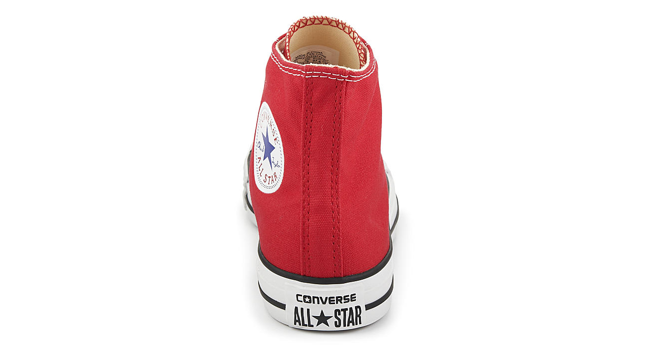 CONVERSE Unisex Chuck Taylor All Star Hi - RED