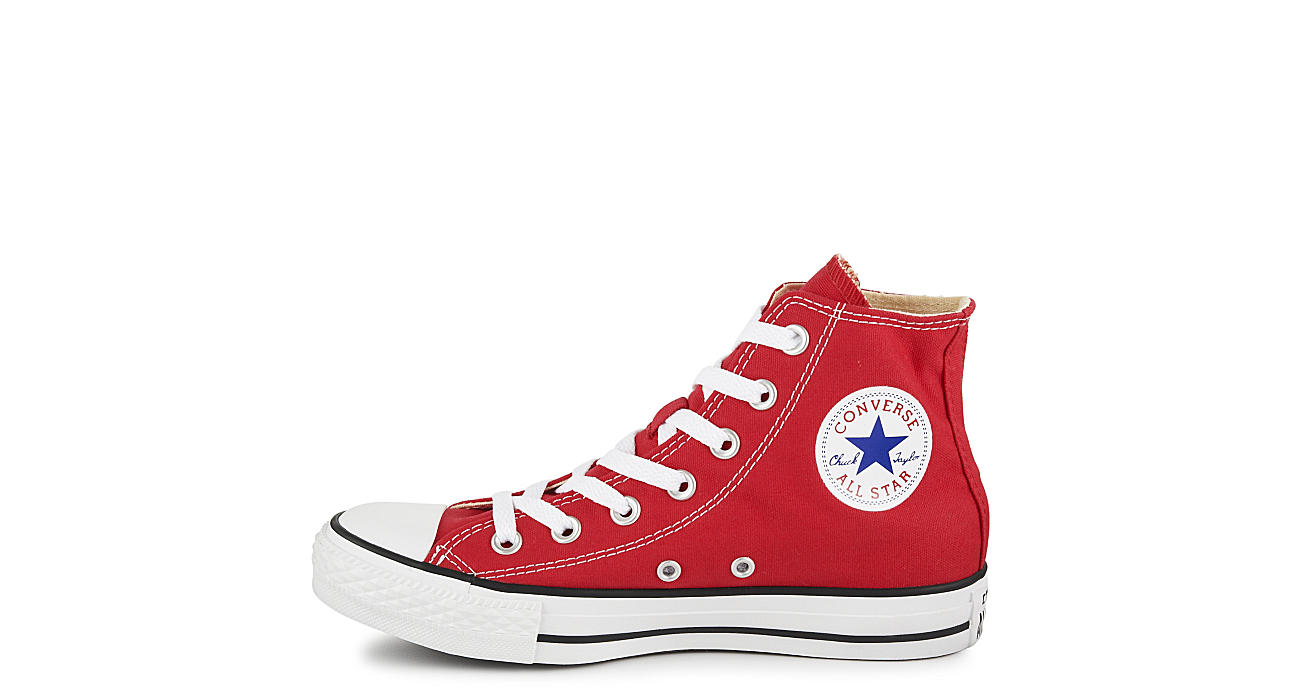 Red converse unisex chuck taylor all star hi athletic rack room converse unisex chuck taylor all star hi geenschuldenfo Images
