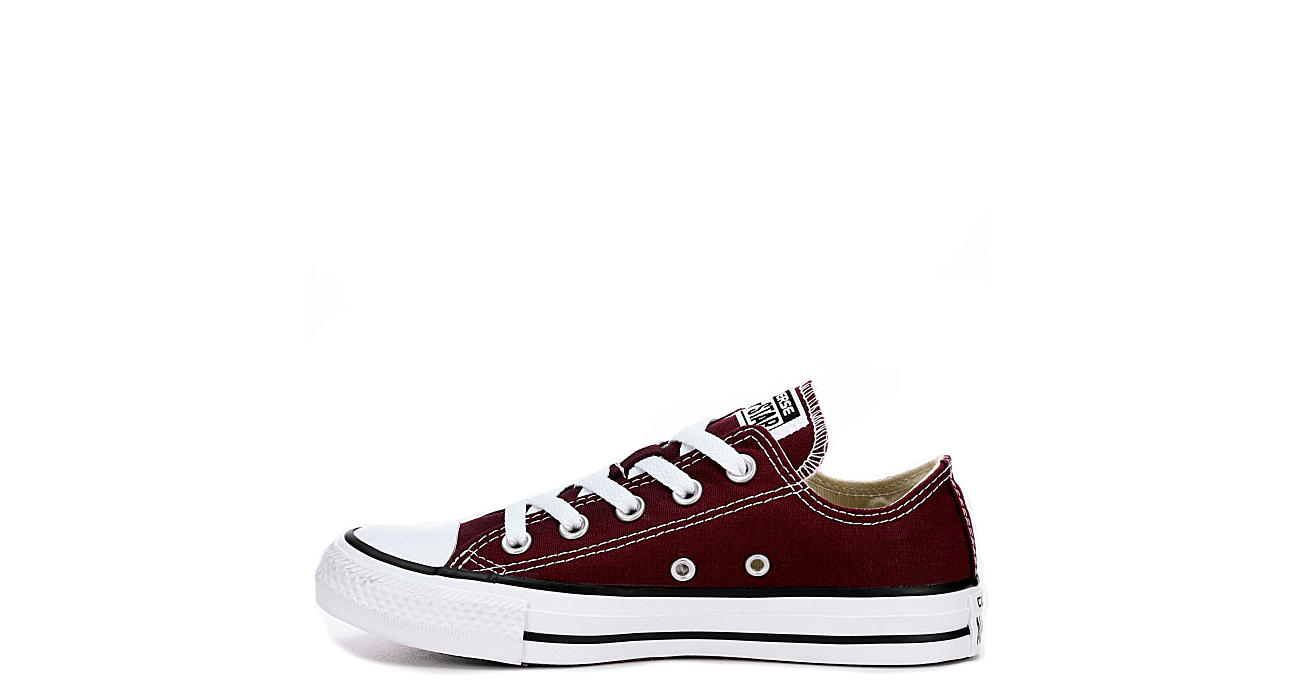 converse shoes burgundy
